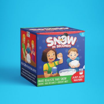 Fake Snow Making Kit