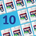 10 pack fake snow part favors